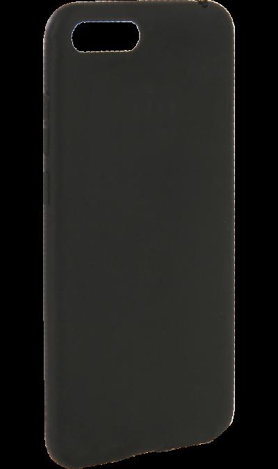 Чехол-крышка New Level для Honor 7A, полиуретан, черный фото