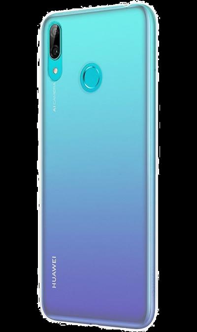 Чехол-крышка Mobile Plus для Huawei Y6 (2019), термополиуретан, прозрачный  - купить со скидкой