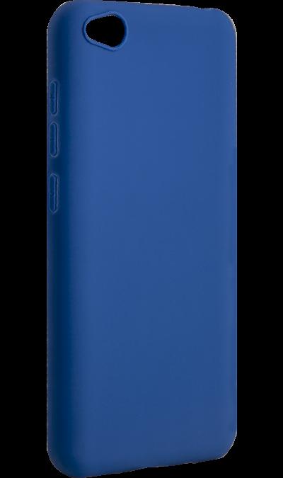 Чехол-крышка New Level для Xiaomi Redmi Go, термополиуретан, синий фото