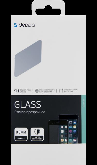 Защитное стекло Deppa для Samsung Galaxy A20s 3D Full Glue (черная рамка) фото