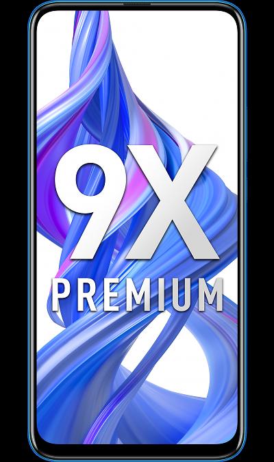 Смартфон Honor 9X Premium 6/128GB Blue/Сапфировый синий фото