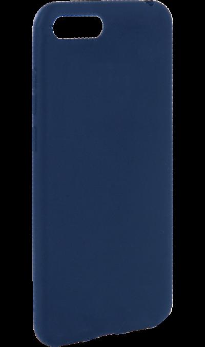 Чехол-крышка New Level для Honor 7A, полиуретан, синий фото