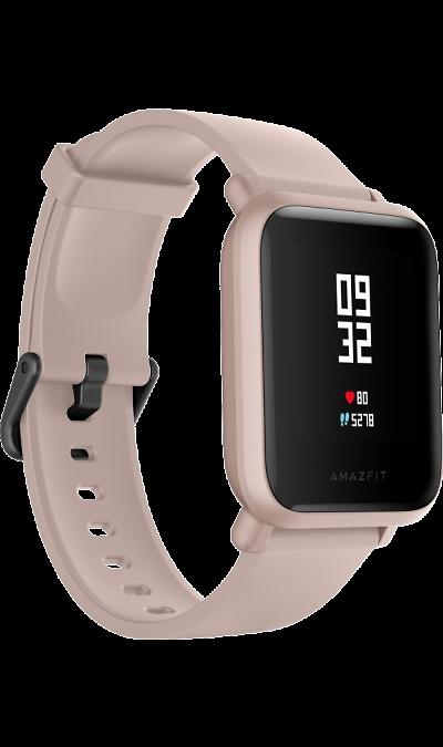 Часы Amazfit Bip Lite (розовые) фото