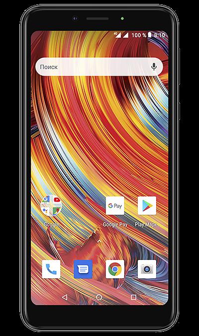 Смартфон Texet TM-5084 4G Black