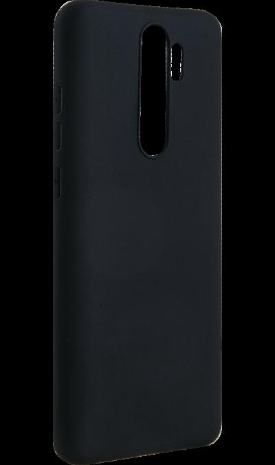 Чехол-крышка New Level для Xiaomi Note 8 Pro, силикон, черный фото