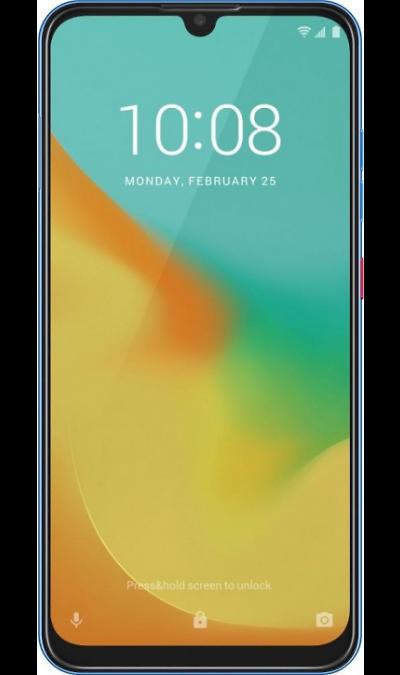 Смартфон ZTE Blade V10 Vita 2/32GB Aquamarin Blue (синий) фото