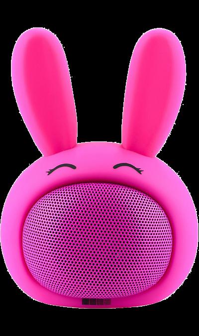 Колонка портативная InterStep Funny Bunny Pink