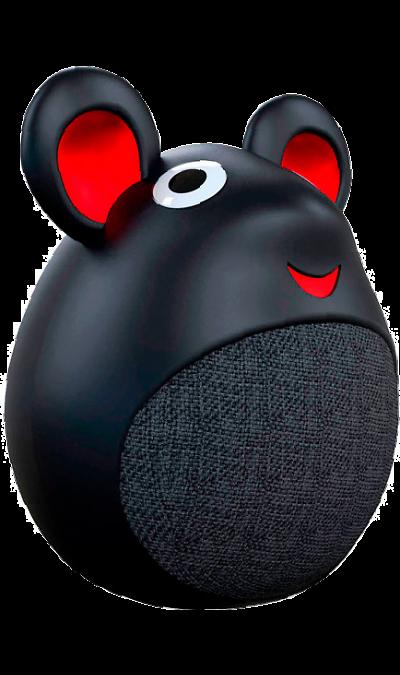 Колонка портативная InterStep Little Mouse Black