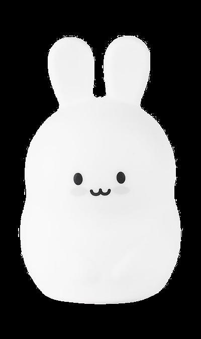 Лампа детская Rombica LED Rabbit (белая) фото