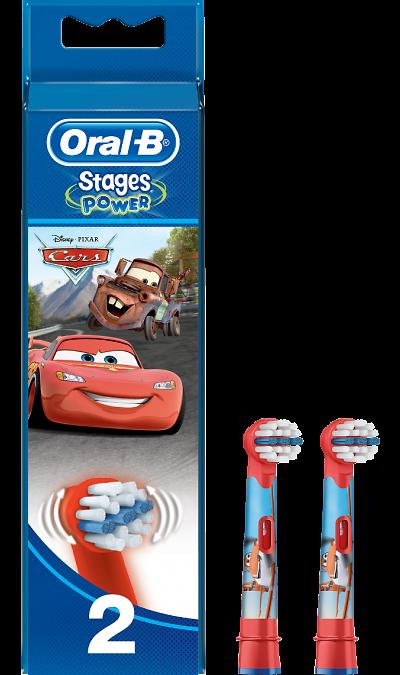 Насадка Oral-B Kids Stages Cars 2 шт. фото