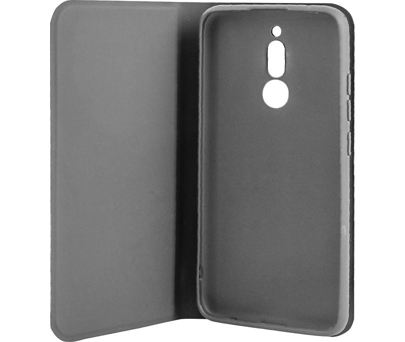 Чехол-книжка Gresso для Xiaomi Redmi 8, полиуретан, черный