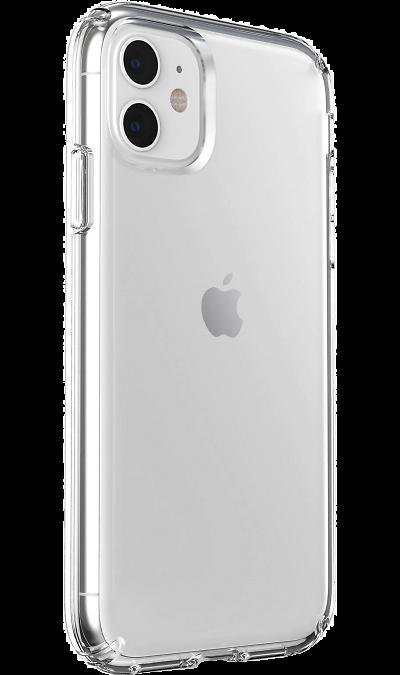 Чехол-крышка Miracase MP-8024 для iPhone 11, полиуретан, прозрачный  - купить со скидкой