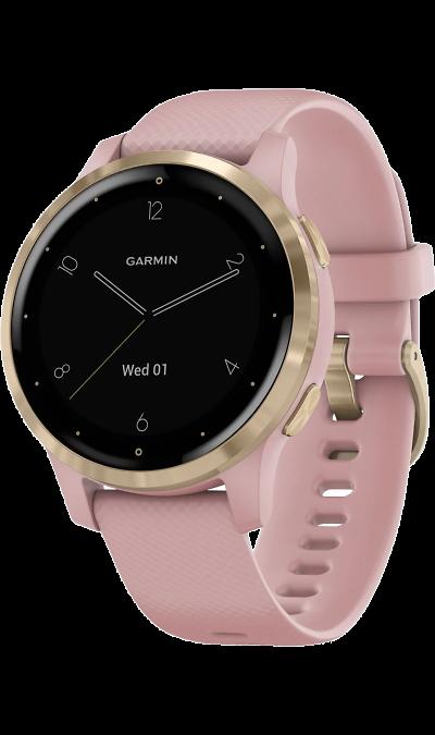 Часы Garmin Vivoactive 4s (розово-золотые) фото