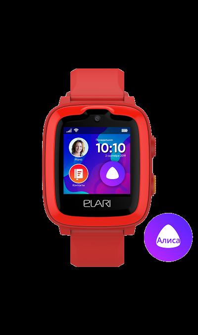 Часы Elari KidPhone 4G Красные фото