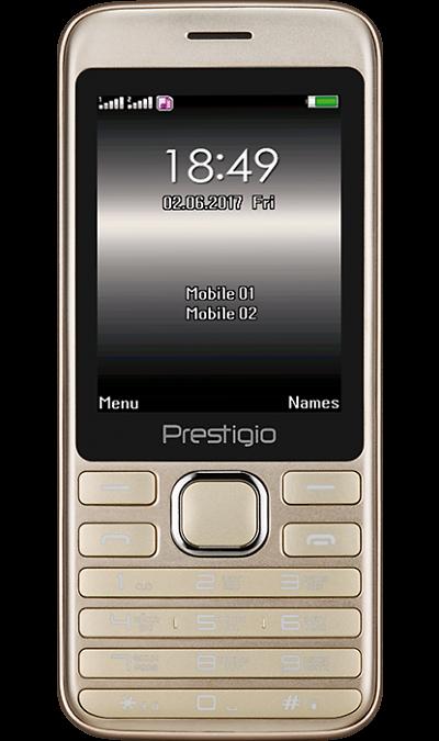 Телефон Prestigio Grace A1 Gold фото