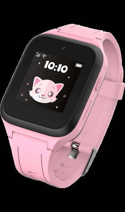 Часы-телефон TCL MT40X (розовые) фото