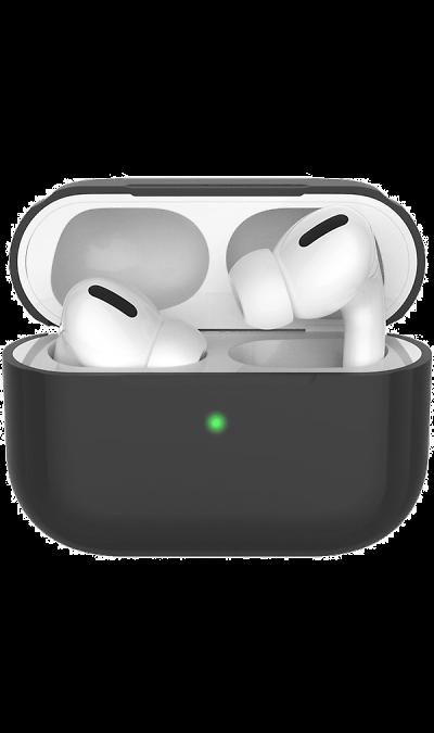 Чехол Deppa для футляра наушников Apple AirPods Pro, силикон, черный