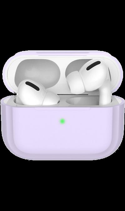 Чехол Deppa для футляра наушников Apple AirPods Pro, силикон, лавандовый фото