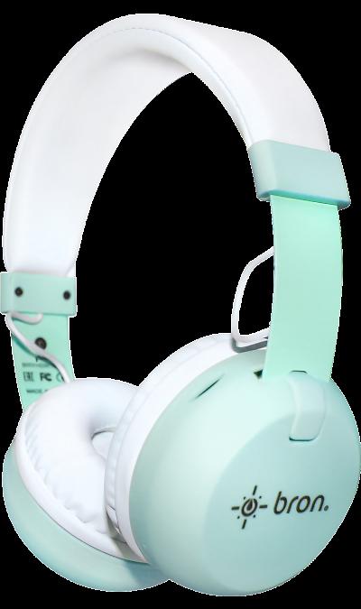 Bluetooth-гарнитура Bron HDW10 (бирюзовая) фото