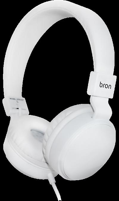 Проводная гарнитура Bron BRN-HDS14 (белая)
