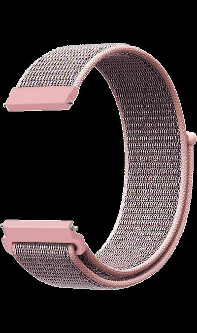 Ремешок Lyambda Vega 22 мм, нейлон, розовое золото фото