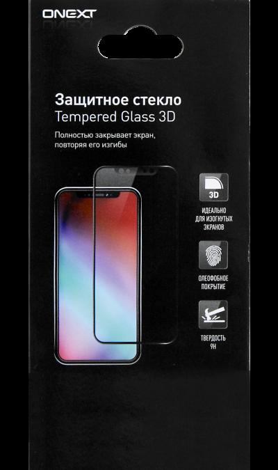 Защитное стекло One-XT для Honor 8S 3D Full Glue (черная рамка) фото