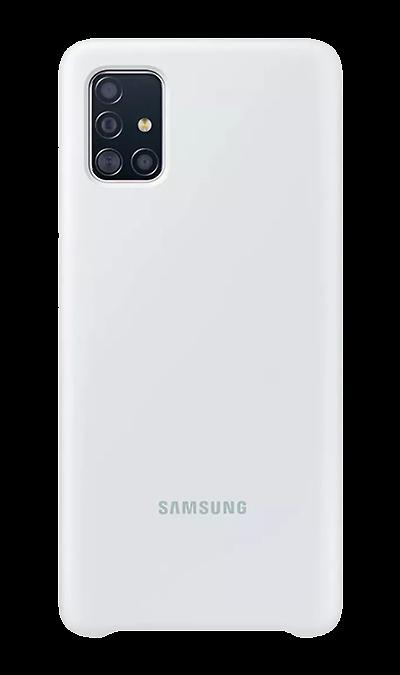 Чехол-крышка Samsung PA515TBEGRU для Galaxy A51, силикон, белый фото