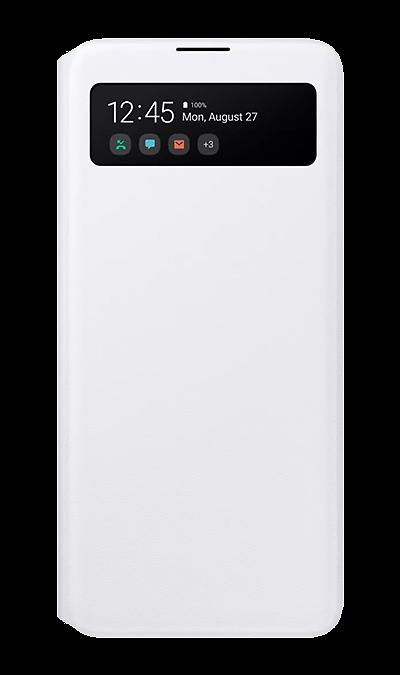 Чехол-книжка Samsung EA515PBEGRU для Galaxy A51, полиуретан, белый фото