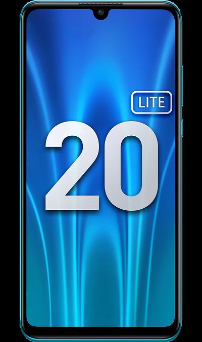 Смартфон Honor 20 Lite 4/128GB (RU) Сапфировый синий фото