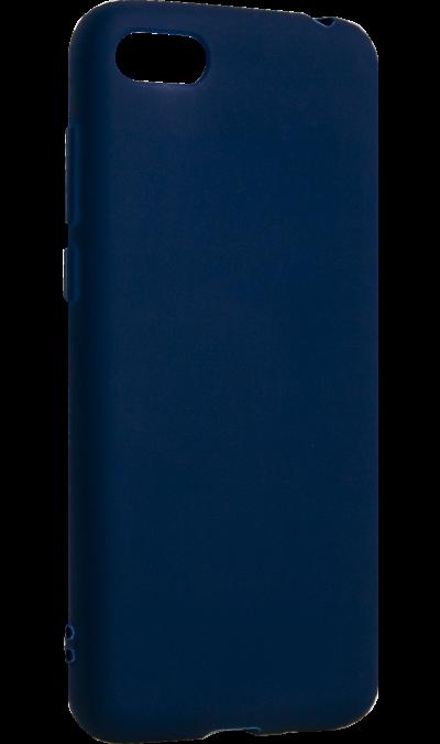 Чехол-крышка Gresso для Honor 7A, термополиуретан, синий фото