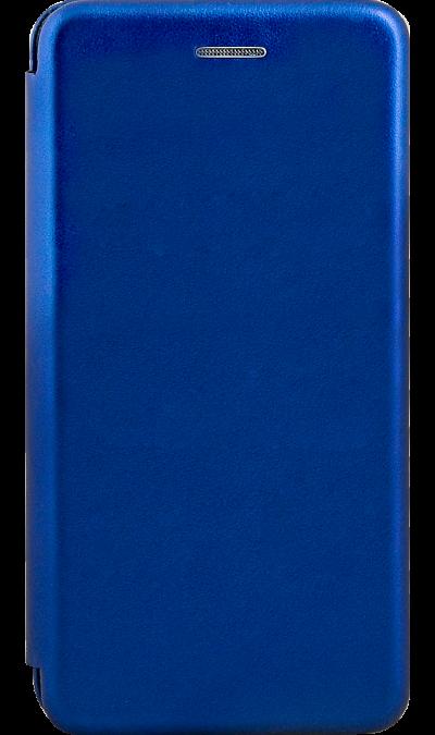 Чехол-книжка Deppa для Honor 8S, полиуретан, синий фото
