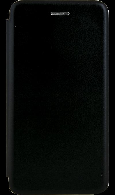 Чехол-книжка Deppa для Honor 7A, полиуретан, черный фото