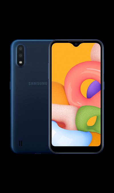 Смартфон Samsung Galaxy A01 Синий