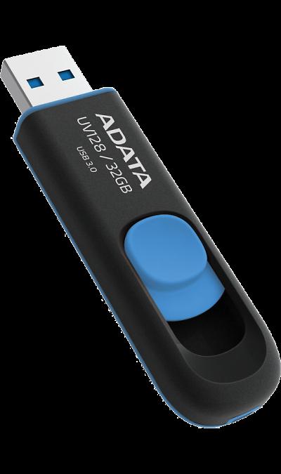 Флеш-накопитель Adata UV128 32Gb чрн/син
