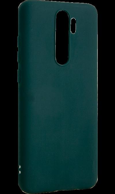 Чехол-крышка Gresso для Xiaomi Redmi Note 8 Pro, термополиуретан, зеленый фото