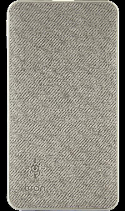 Аккумулятор Bron G500L, Li-Pol, 5000 мАч, серый