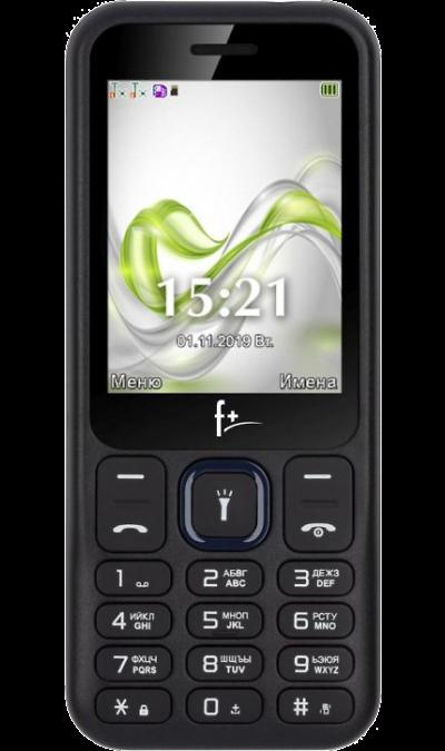 Телефон F+ F255 Black Blue