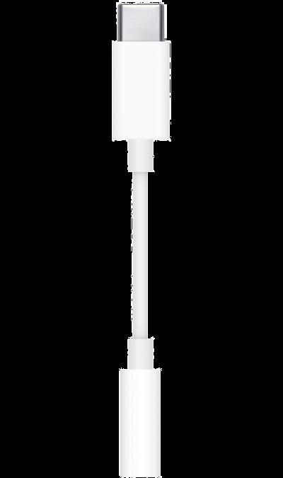 Адаптер Apple MU7E2ZM/A (USB-C 3,5мм)