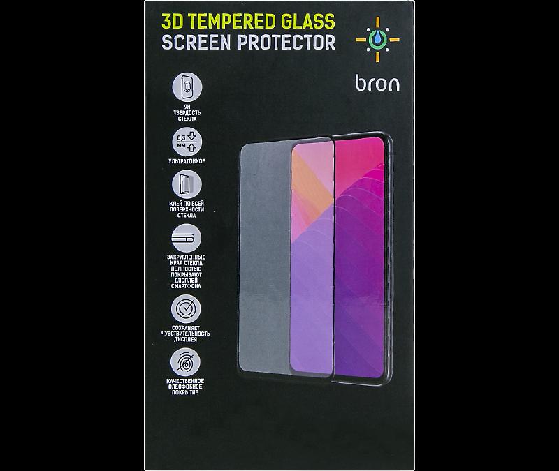 Защитное стекло Bron для Huawei P Smart Z 3D Full Glue (черная рамка)