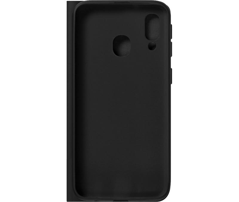 Чехол-книжка Deppa для Samsung Galaxy A40 (2019), термополиуретан, черный