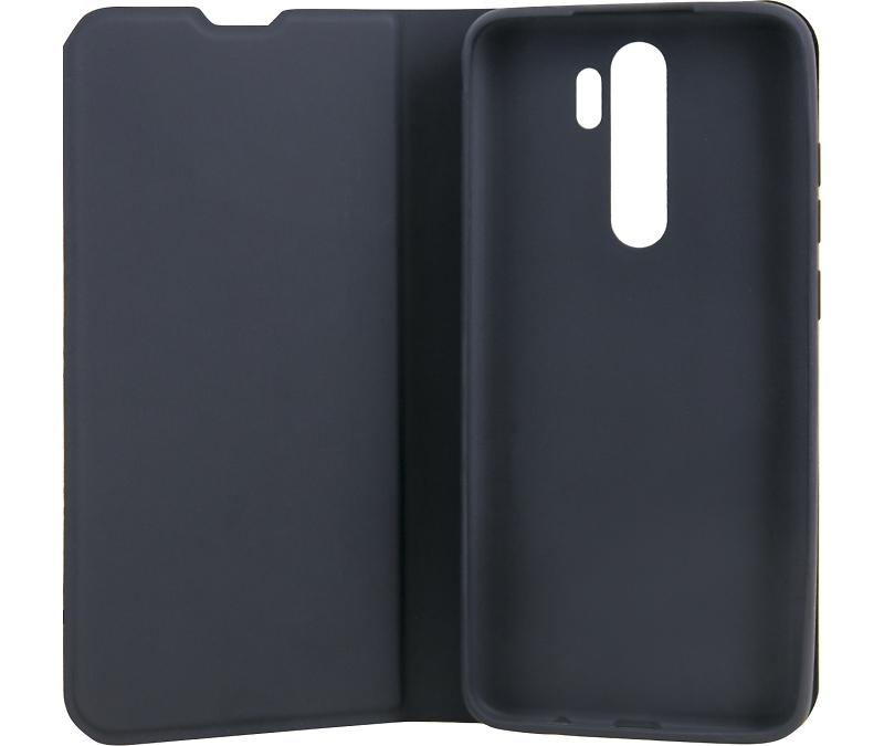 Чехол-книжка Deppa для Xiaomi Redmi Note 8 Pro, термополиуретан, черный