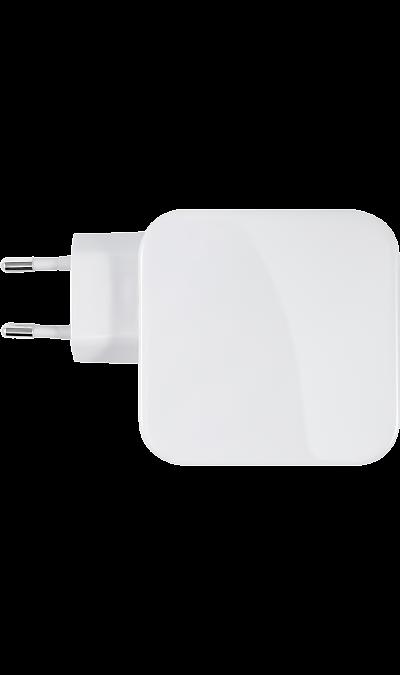Зарядное устройство сетевое Bron BRN-AC-PD18/QC18 TypeC/USB A (белый)  - купить со скидкой