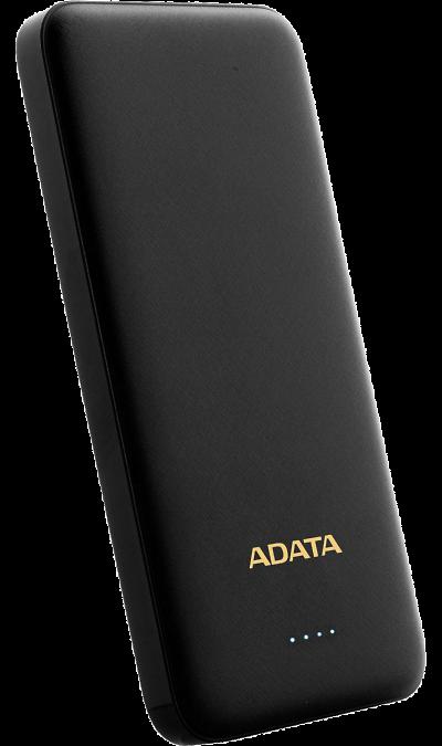 Аккумулятор ADATA T10000, Li-Ion, 10000 мАч, черный