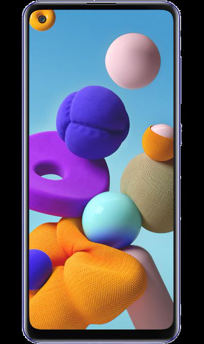 Смартфон Samsung Galaxy A21s 4/64GB Синий