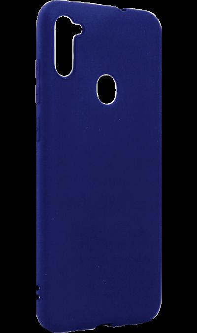 Чехол-крышка Deppa для Samsung Galaxy А11(2020), термополиуретан, синий  - купить со скидкой
