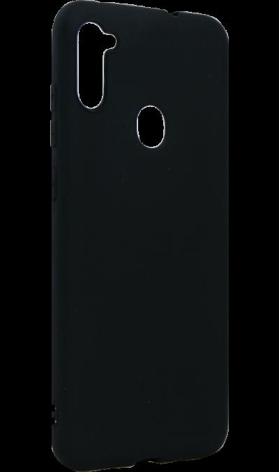 Чехол-крышка Deppa для Samsung Galaxy А11(2020), термополиуретан, черный  - купить со скидкой