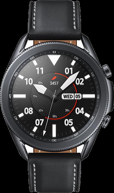 Часы Samsung Galaxy Watch 3 (45 mm) черный