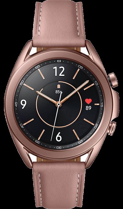 Часы Samsung Galaxy Watch 3 (41 mm) бронза
