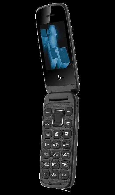 Телефон F+ Flip 1 Black