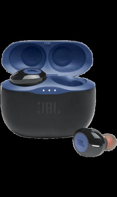 Bluetooth-гарнитура JBL T125TWS (синяя)